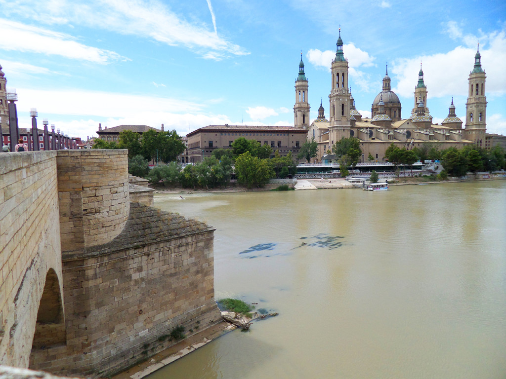 The first stop of our roadtrip: Zaragoza.